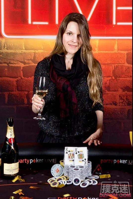 阿根廷的女玩家Maria Lampropulos走上扑克百万富翁之路