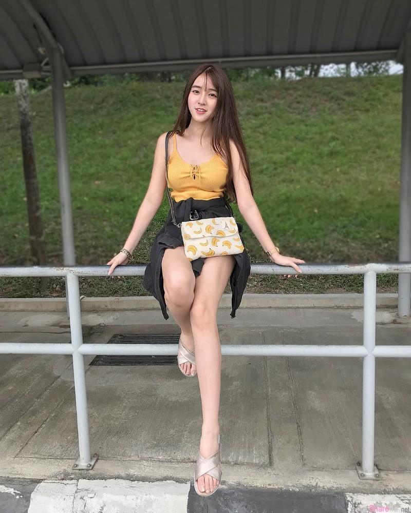 马正妹Kylie Lim 逆天身材美到不科学