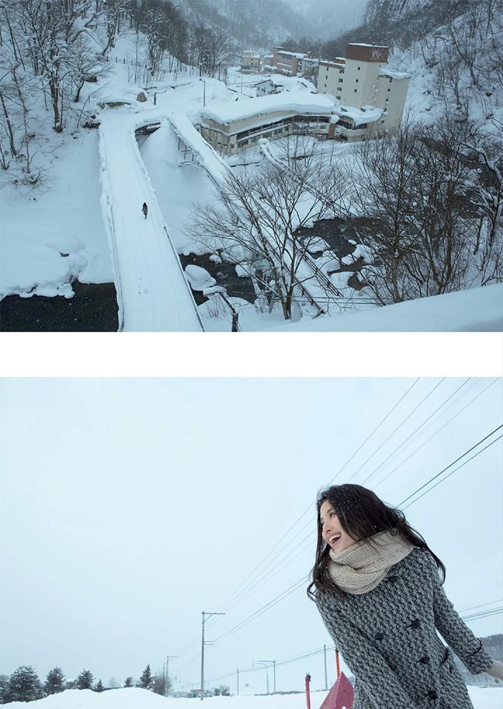 桥本爱实日剧连发中仍拍写真 展示国民情妇性感诱惑