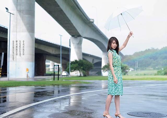 有村架纯台湾写真 永春市场阳明山湿身美照放送