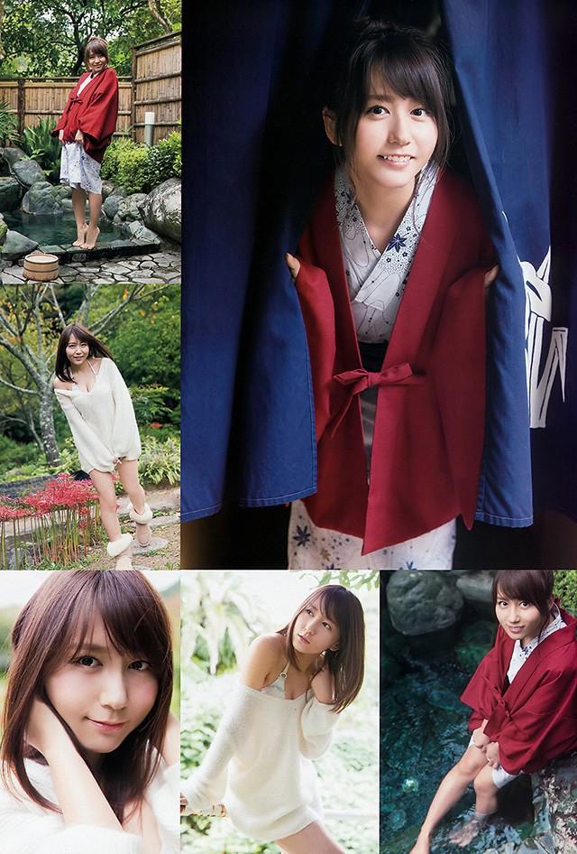 SKE48大场美奈以美好身材和你进行冬天温泉约会