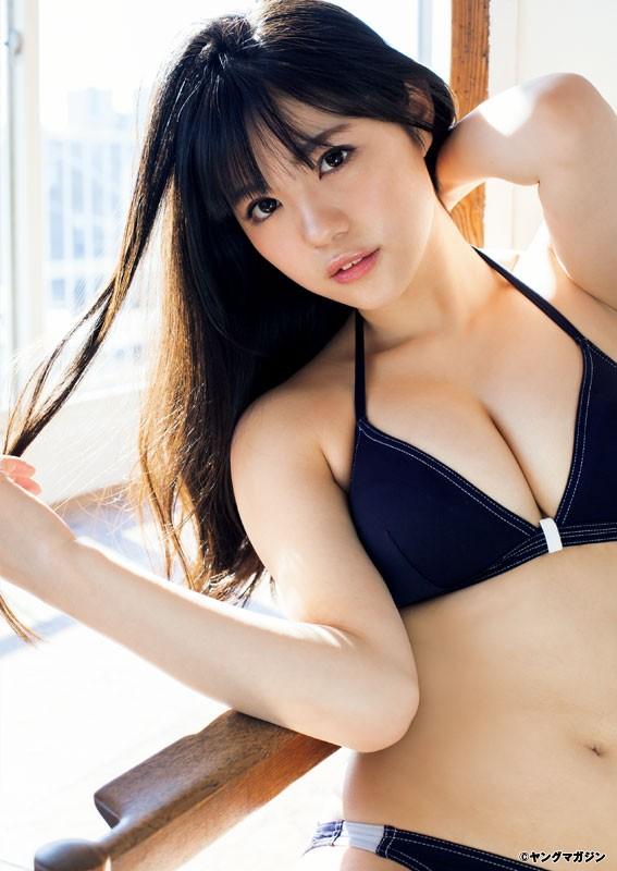 田中优香16岁就拥有无敌G奶 成为AKB及博多最终兵器