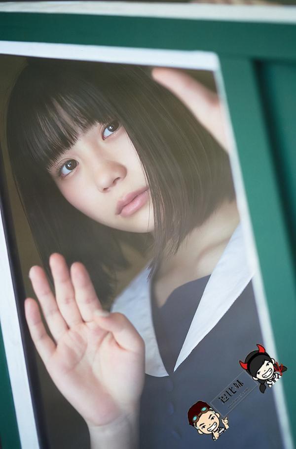 SKE48小畑优奈为选取拉票 推出清纯性感写真宛如邻家女孩