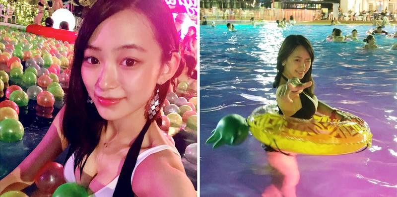 日本魔术师正妹御寺ゆき 首拍性感泳装写真尺度大开