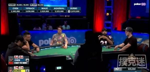 WSOP回顾 陈东获得1万美金买入 6-Max赛事第五名 Anuj Agarwal夺冠
