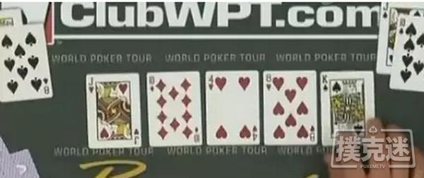 德州扑克史上最打脸牌局:一切反转都可能发生