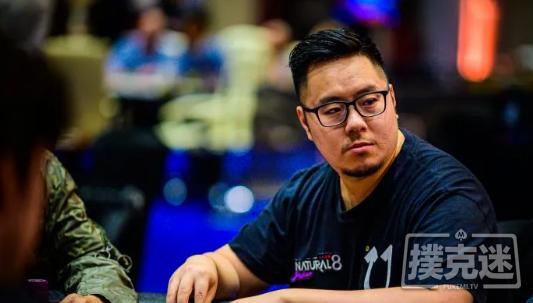 香港选手Danny Tang希望再赢一条金手链