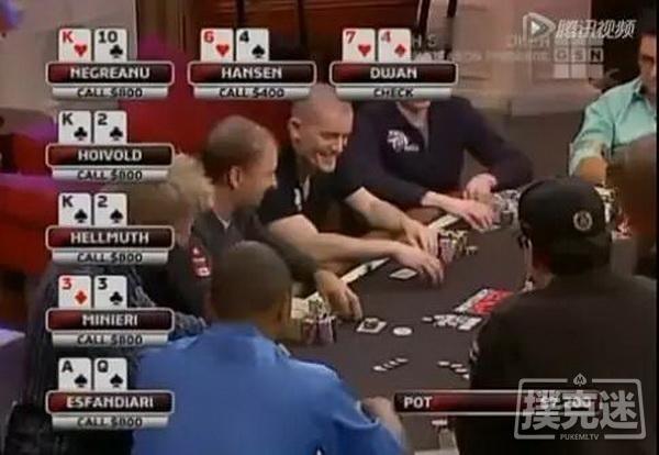 德州扑克牌局分析-Flush Over Flush,你被第二坚果同花坑过吗?