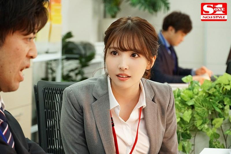SSNI-865 :巨乳OL三上悠亚帮处男上司转大人,办公室激战上瘾!