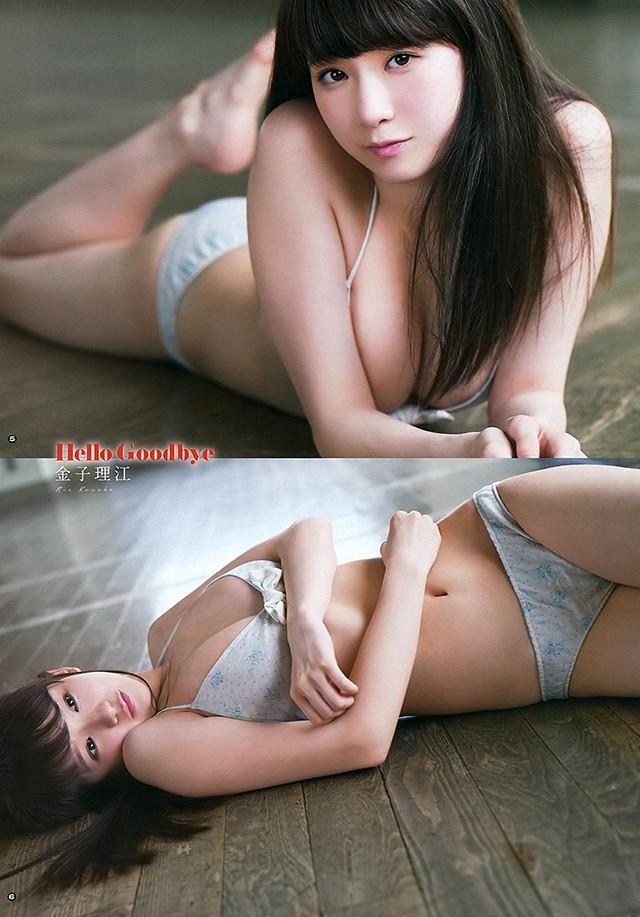 17岁金子理江YouTube 880万点击乘胜拍摄写真