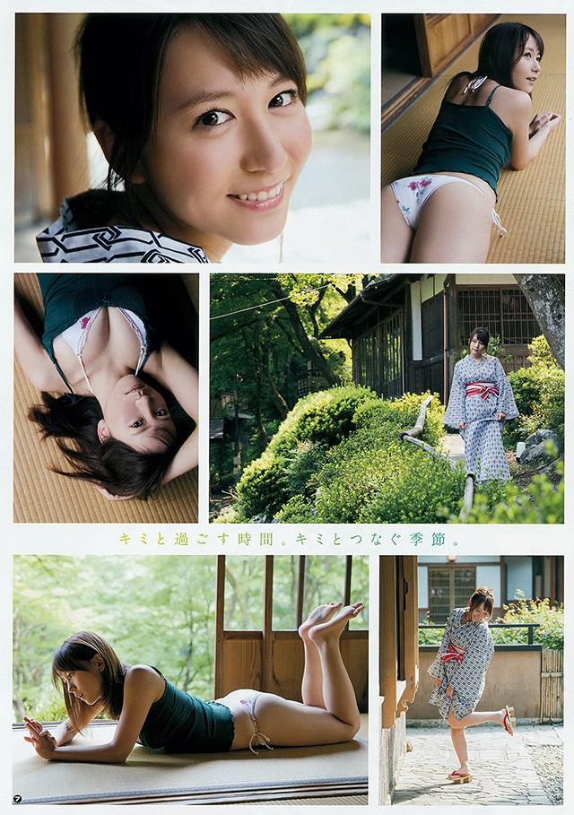 SKE48队长大场美奈 展现团中少见好身材事业线