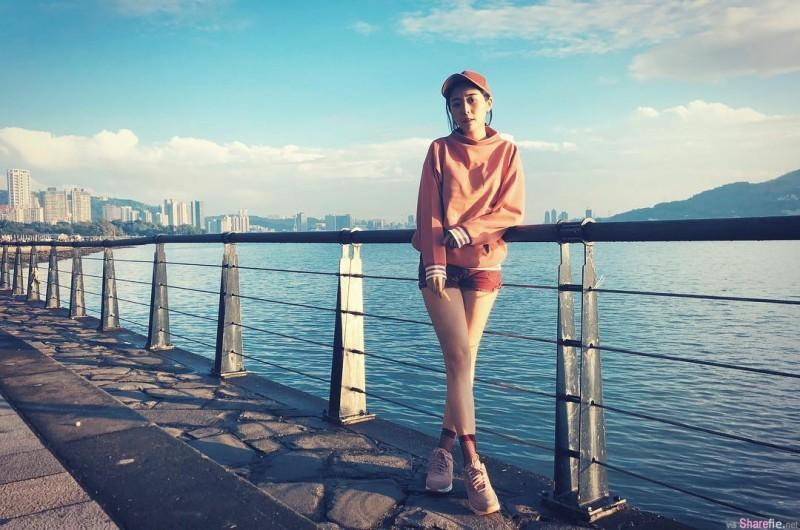 """女神Albee刘璟莹健身照 意外露出""""骆驼蹄""""引热议"""