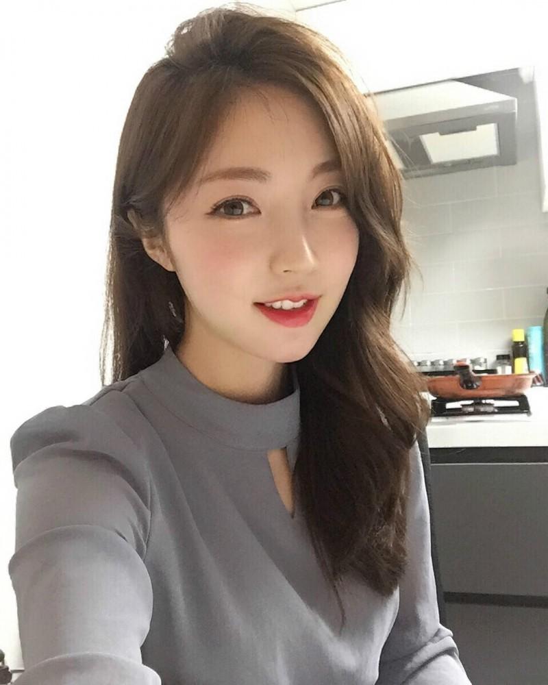 韩国极品正妹 性感身材完美到不科学