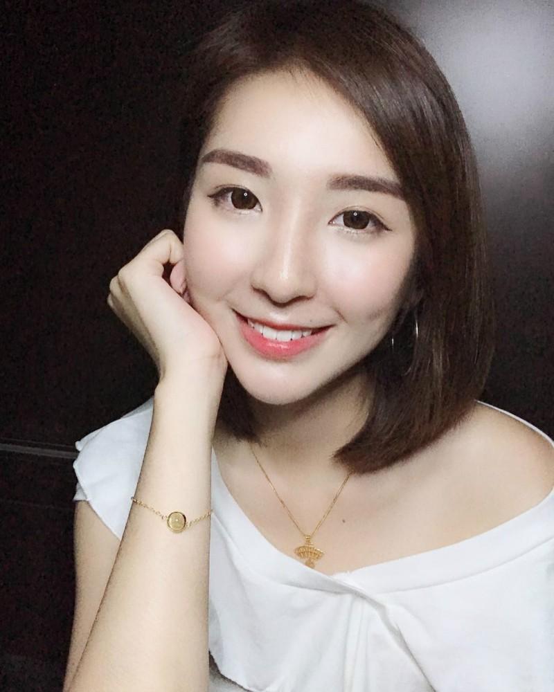 短发正妹Susan  Chia神似郭雪芙 甜美笑容治愈人心