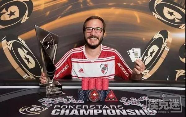 首次参加扑克比赛他,却靠一个大盲拼到冠军!