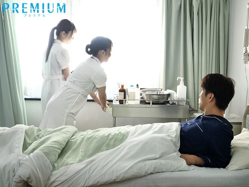 PRED-260:一次两个巨乳护士帮你服务,实在是好幸福啊!