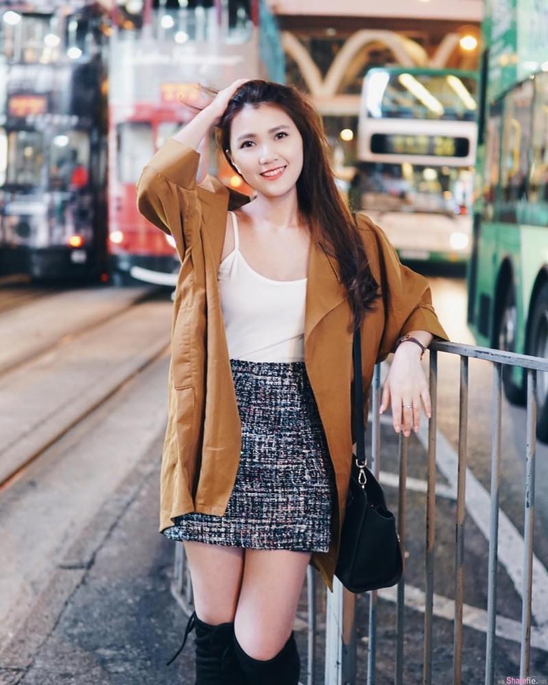 大马槟城正妹Sin Yee 清秀佳人完美身材吸睛