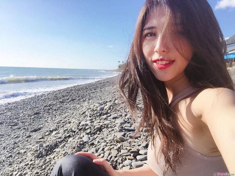 阳光正妹Unaaa 美女冲浪征服大海