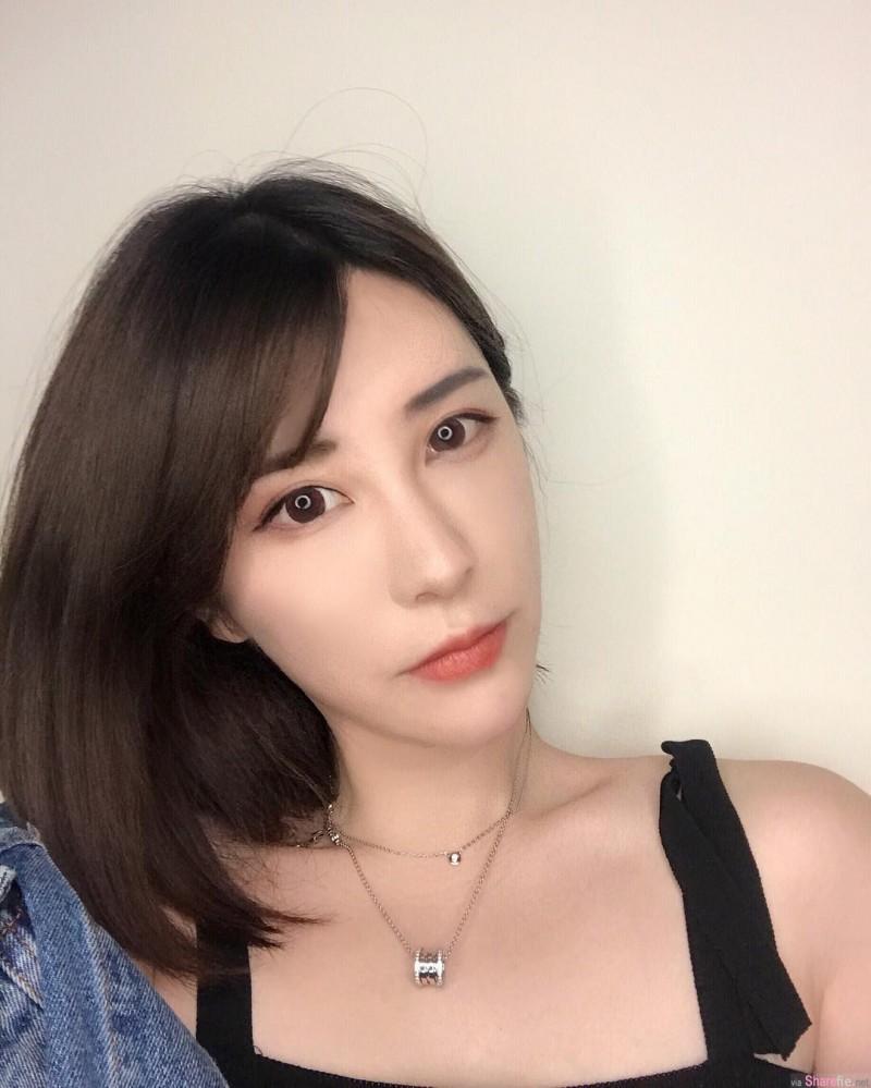 上海正妹Sharon 白皙大长腿美女性感迷人