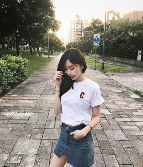清纯正妹陈颖Tiffany Chen 性感逆天长腿魅力无限