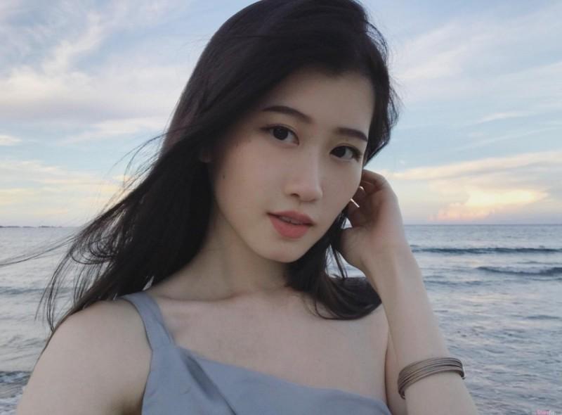 骨感型正妹郑婕妤 超凡脱俗气质仙气逼人
