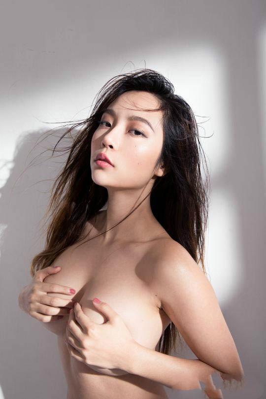 台湾的大尺模特,到底有没有在怕露点这件事