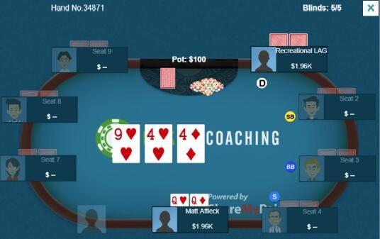 德州扑克高对的困境