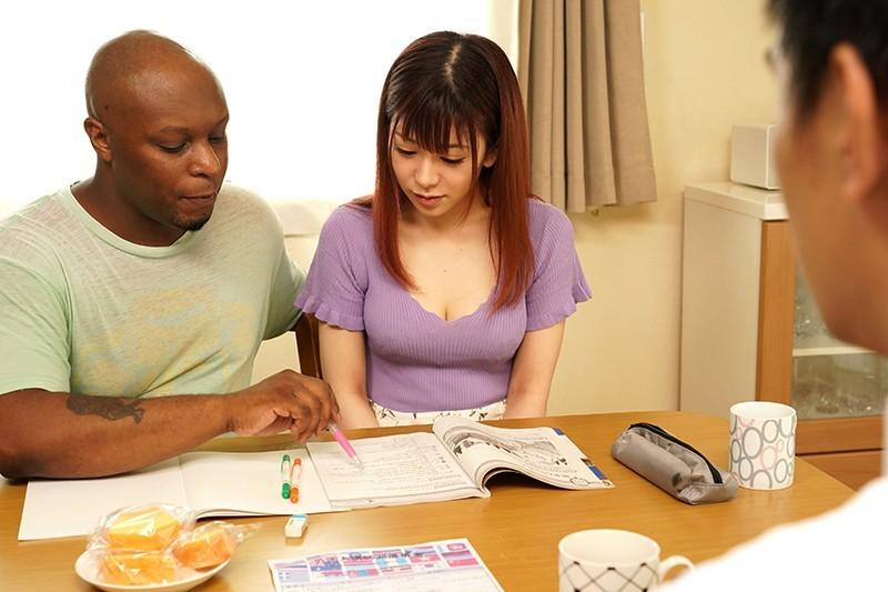 人妻「有村のぞみ」上英文课上到床上去 用过黑人棒子后就回不去了