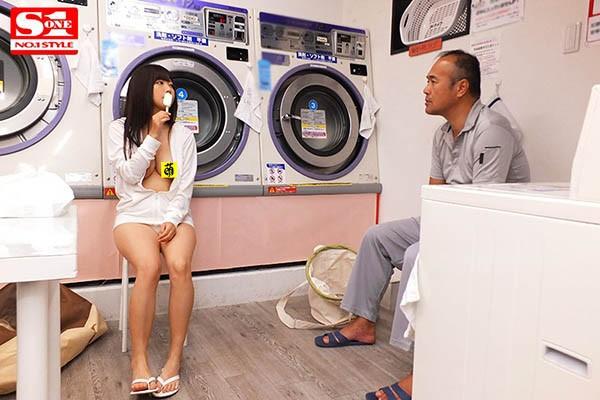 SSNI-719 :巨乳女大生羽咲みはる洗衣店全裸勾引人夫尽情做爱!
