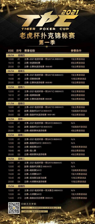 2021 TPC老虎杯第一季参赛攻略!