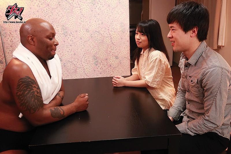 "DASD-660:巨乳女友""柊るい""在变态男友面前被黑人中出了⋯"