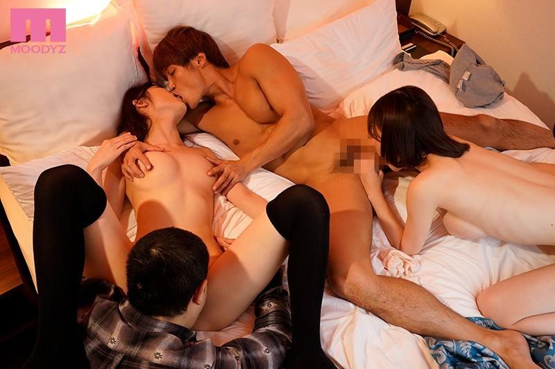 "MIAA-059 :美女高中生""深田咏美,黑崎美嘉""互相交换男友进行调教玩耍!"