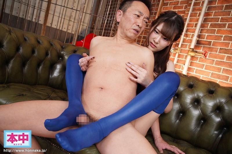 "HND-811 :长腿妹子""椎叶えま"" 被一堆老头子糟蹋〜解禁中出!"