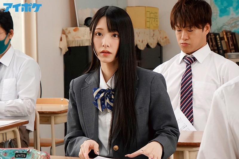 """IPX-607:制服高中妹""""あまつか亜梦""""躲在讲台上帮老师口交。"""