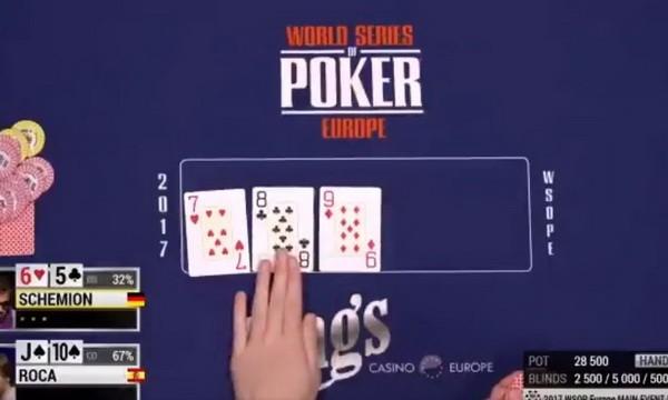 德州扑克翻牌发出连牌怎么打?给你三个提示