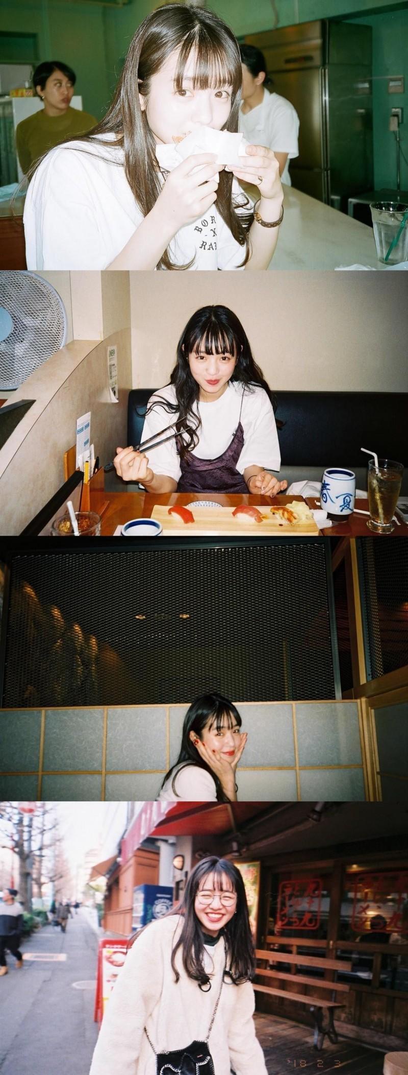 横田真悠 胶片日常合集 可爱的女孩纸 