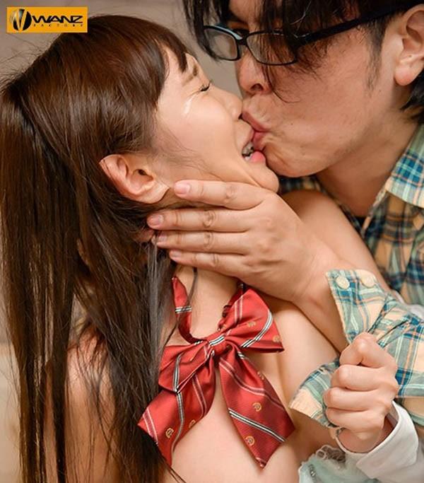 "waaa-041:H杯巨乳女高中生""逢见リカ""惨遭肥宅泰山压顶巨屌抽插。"