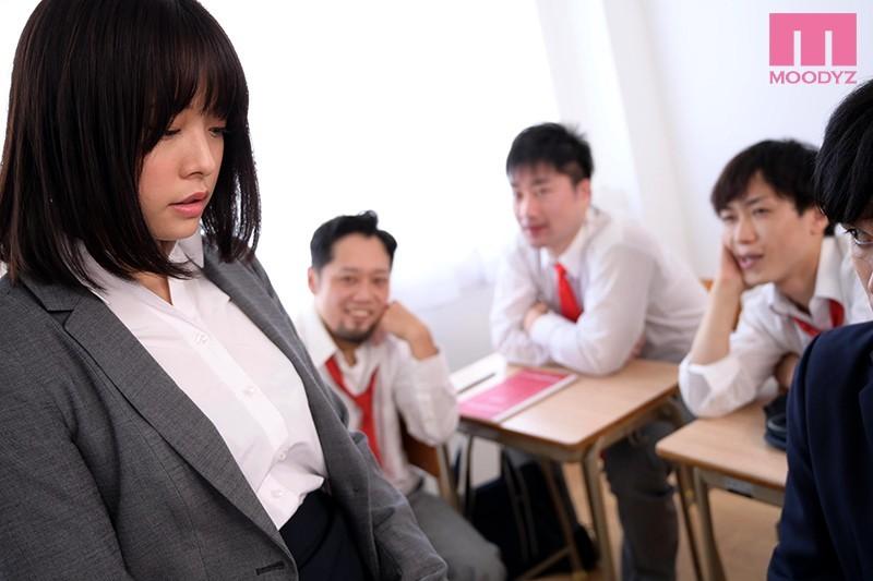 八木奈々(八木奈奈) 作品MIDE-876:正妹女教师拯救霸凌学生却惨遭「玷污报复」!