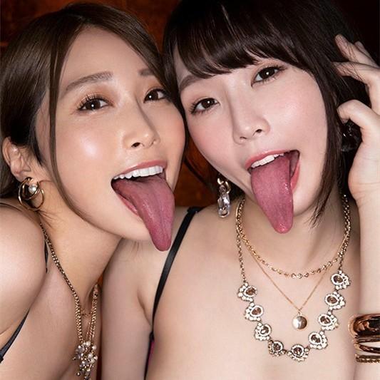 "CJOD-285:舌姬痴女""佐伯由美香、野々宫みさと""强强联手吸干男人精库!"