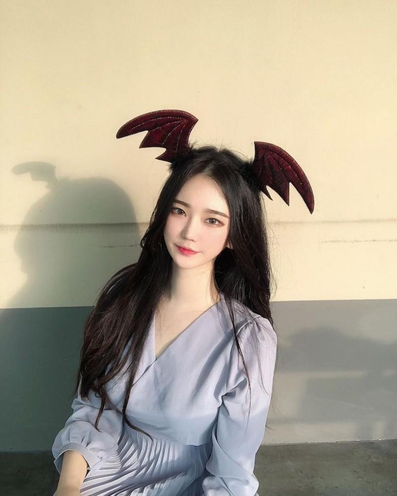 夜游汉江的「小恶魔正妹」,穿这样运动有够犯规!