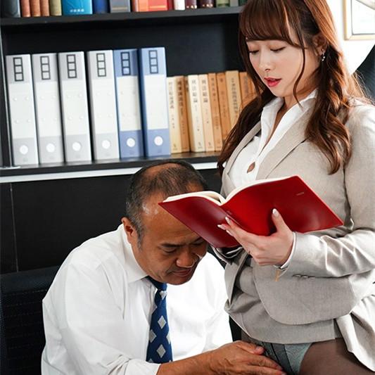 """JUL-377 :巨乳人妻秘书""""白石茉莉奈""""身体支援老板办公室中出。"""