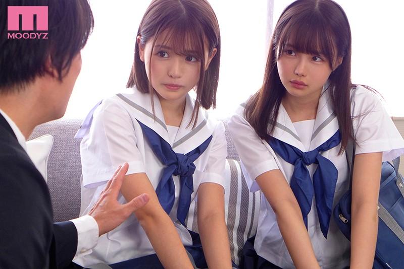 "MIAA-354:校花女高中生""松本いちか、永瀬ゆい""主动倒贴共享老师。"