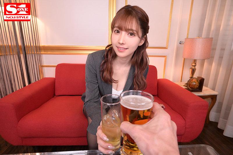 """SIVR-137 :""""三上悠亜(三上悠亚) """"出差大变身,和你太太相比,谁的胸部比较大?"""