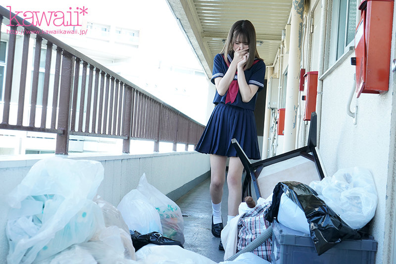 "CAWD-276 :高中妹""松本いちか(松本一香)""在邻居满是垃圾的房里被强暴!"