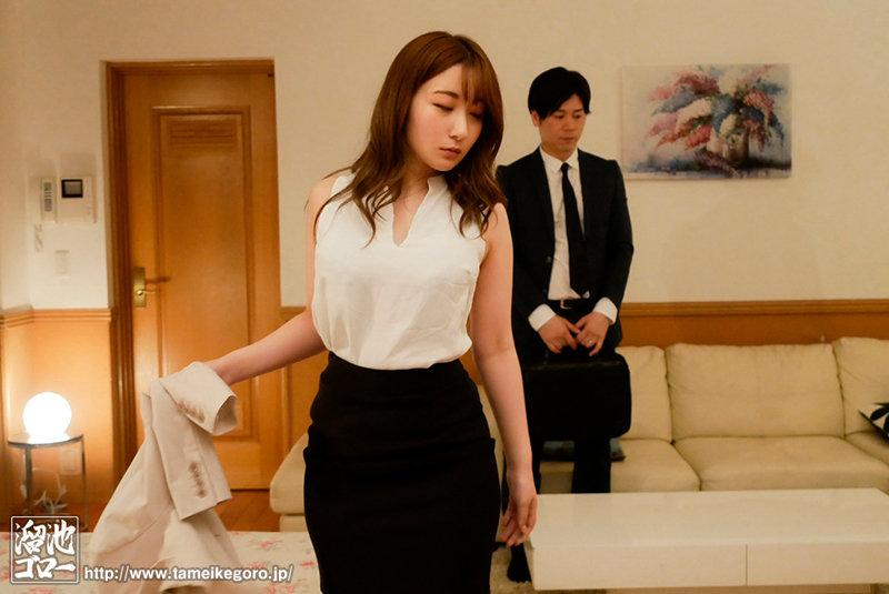 """MEYD-695:在美人女上司""""北野未奈""""的家里与她偷情做爱。"""