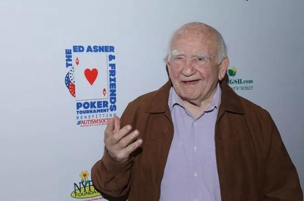 扑克爱好玩家Ed Asner 去世, 享年 91 岁!