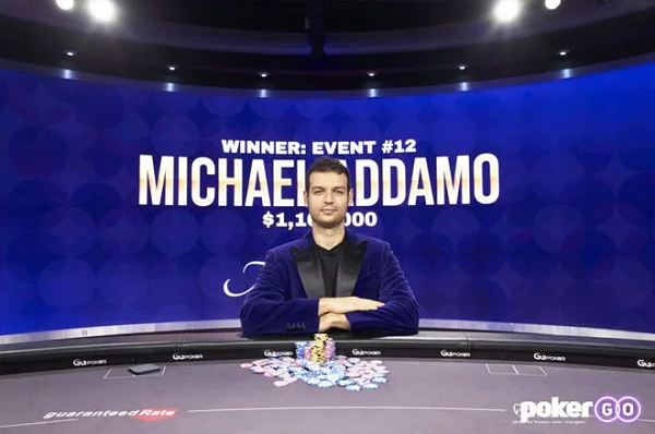 Michael Addamo赢得背靠背赛事,获得扑克大师赛紫色外套