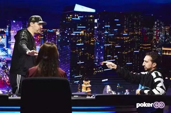 《深夜扑克》最新一集里Hellmuth因上头输掉了比赛