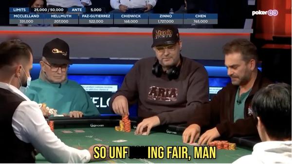 """大骂10分钟,Phil Hellmuth在WSOP决赛桌""""破防""""了"""
